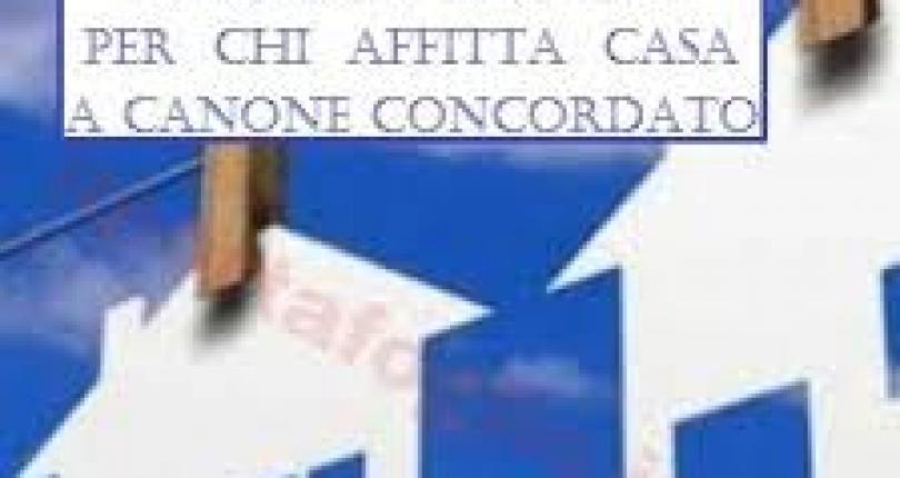 SCONTO IMU PER GLI AFFITTI A CANONE CONCORDATO
